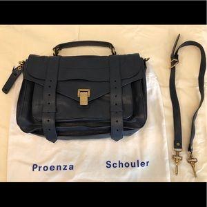 Proenza Schouler Medium PS1- Midnight (Navy Blue)